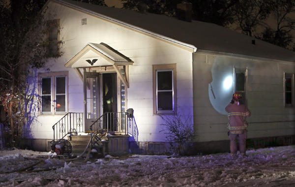 Personnel with Aberdeen Fire and Rescue responded to a house fire at 811 Seventh Ave. S.E. on Tuesday night. The house was left uninhabitable by the blaze.