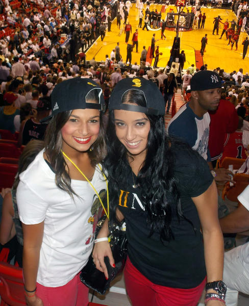 Heat fans celebrate win against the LA Clippers - The Heat Is On