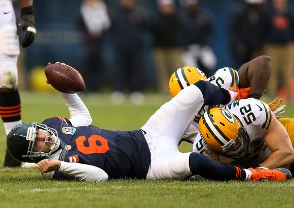 Cutler vs. Packers