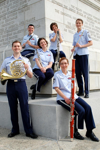The USAF Heritage of America Band will perform at Fort Monroe this summer.