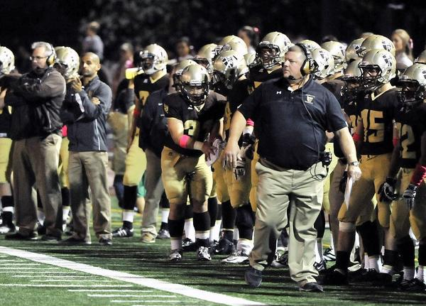 St. Francis' High football Coach Jim Bonds and his unbeaten Golden Knights head to undefeated Serra on Friday at 7 p.m. in a Mission League showdown. (Tim Berger/File Photo)