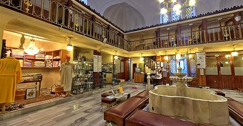 The women's side of Istanbul's Cagaloglu Hamami has shops and areas to relax. Hamams are a descendant of ancient traditions.