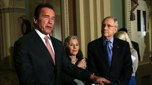Schwarzenegger, on Capitol Hill, rallies for after-school programs