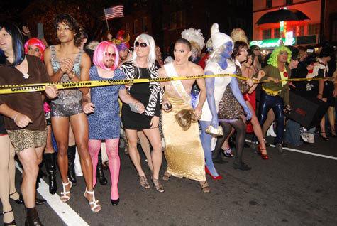 Halloween lesbians festivals at