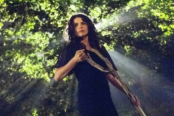 "Julia Ormond stars in ""Witches of East End."""