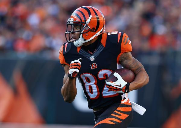 Bengals receiver Marvin Jones had four touchdown receptions against the Jets last Sunday.