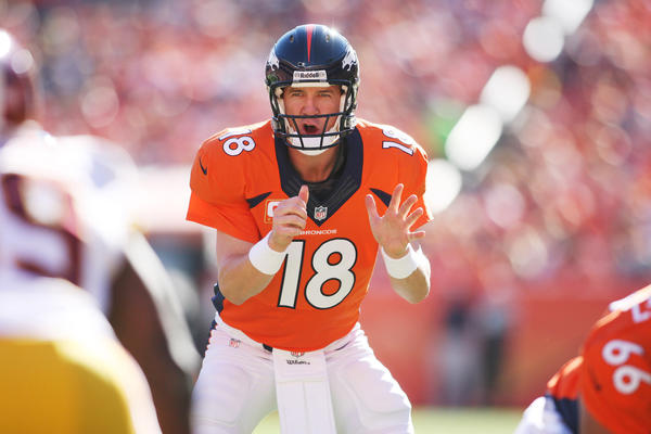 As if there were any doubt, Peyton Manning is the midseason fantasy MVP at quarterback this season.
