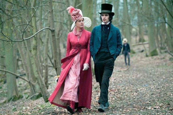 "Ben Whishaw portrayed great Romantic poet John Keats in the biopic ""Bright Star,"" with Abbie Cornish as Fanny Brawne."