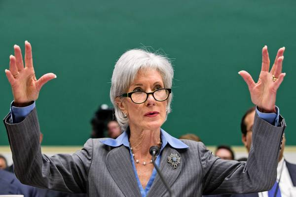 Health and Human Services Secretary Kathleen Sebelius testifies before the House Energy and Commerce Committee on the problems with the federal healthcare website.