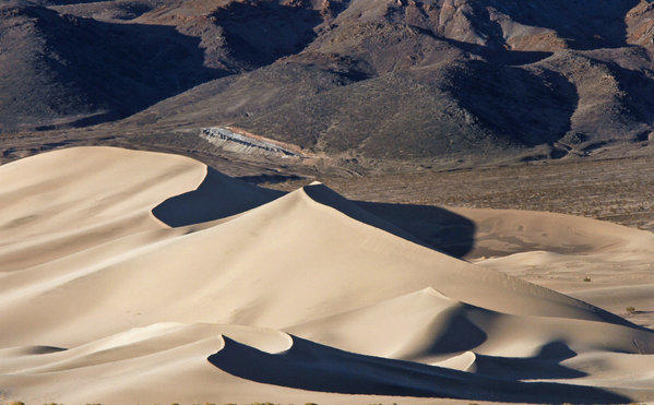The Ibex Dunes in Death Valley National Park, which will admit veterans free from Nov. 9-11.