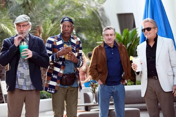 """Last Vegas"" with, from left, Kevin Kline, Morgan Freeman, Robert De Niro and Michael Douglas."
