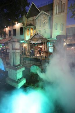 Legends: A Haunting at Old Town attraction in Kissimmee is pictured on Tuesday, October 29, 2013. (Stephen M. Dowell/Orlando Sentinel)
