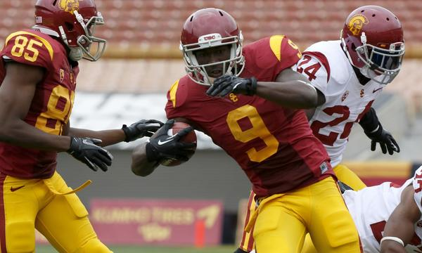 USC wide receiver Marqise Lee stands a good chance of playing in Friday's game against Oregon State.