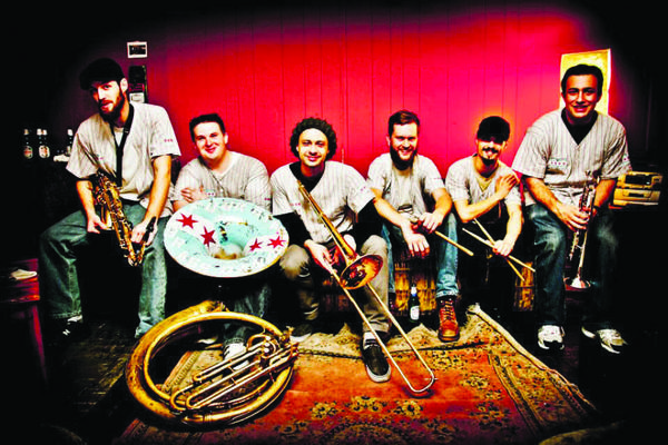 Four Star Brass Band headlines a Halloween party at The Southern.