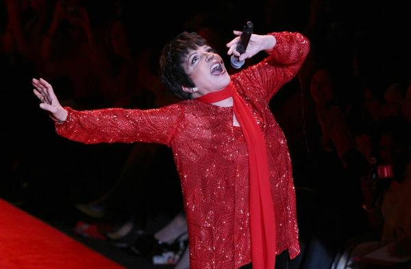 Liza Minnelli plays at Foxwoods Nov. 8.