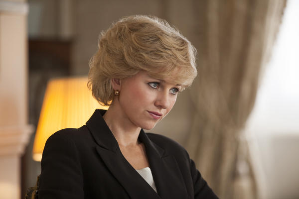 "Naomi Watts stars as Princess Diana in ""Diana."""