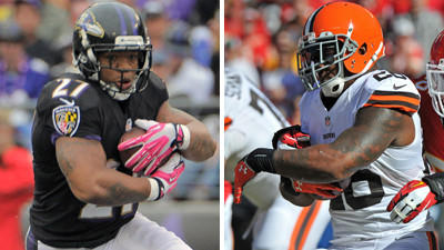 Who's picking the Ravens to beat the Cleveland Browns?