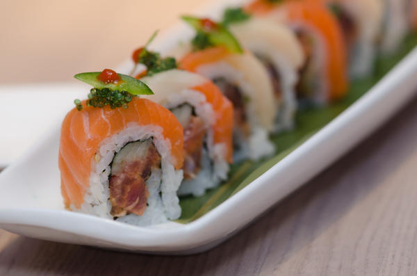 The Kiss of Fire roll at Jellyfish