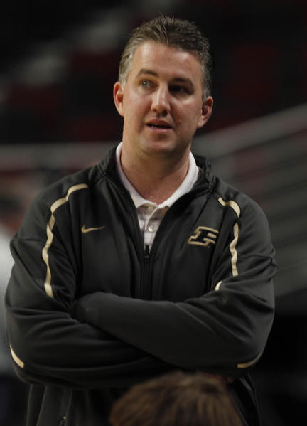 Matt Painter wants his Purdue team to play harder.