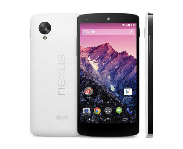 Google's new Nexus 5 smartphone