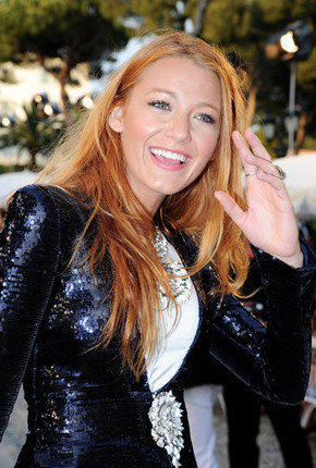 Blake Lively attends the Chanel Collection Croisiere Show in Cap d'Antibes, France.