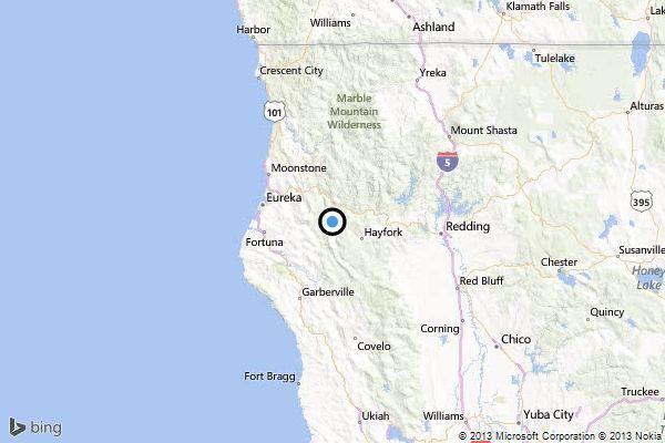 Earthquake: 3.5 quake strikes near Hayfork - latimes