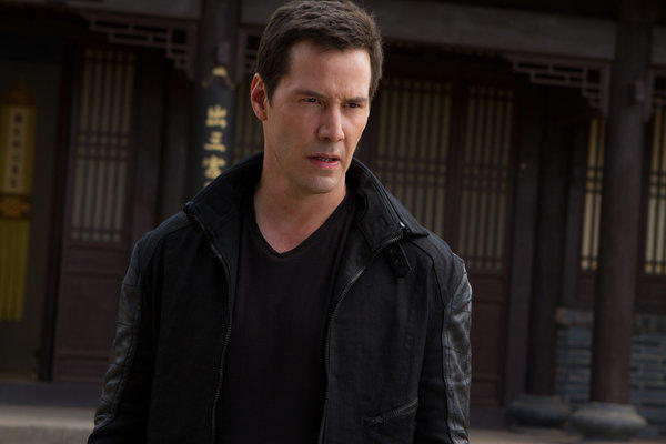 "A still from ""Man of Tai Chi."""