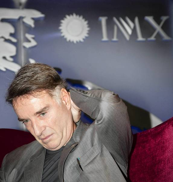 Eike Batista of Brazil, once considered the seventh-richest man in the world, attends an event in Rio de Janeiro in May 2012. His flagship oil firm, OGX, filed for bankruptcy protection this week.
