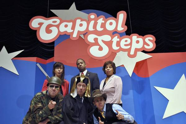 The Capitol Steps will perform Saturday night at the Ferguson Center in Newport News. Photo by Bill Hurd Photo by Bill Hurd