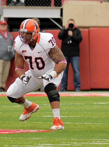 Corey Lewis, an East Stroudsburg South graduate, is starting for the Illinois football team after missing more than two seasons because of knee injuries.