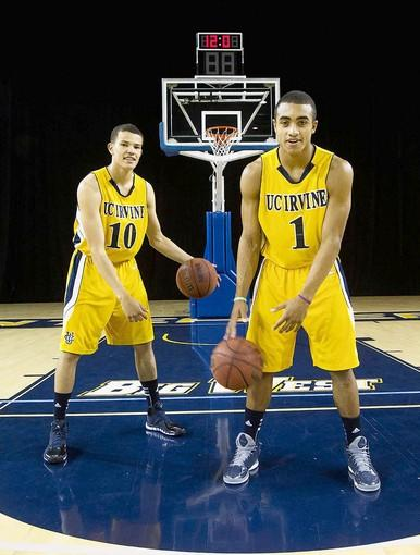 UC Irvine's Luke Nelson, left, and Alex Young figure to be key players for the Anteaters.