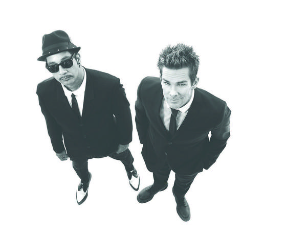 Sugar Ray, including original member Rodney Sheppard, left, and Newport Beach native Mark McGrath, right, is set to perform at Nov. 1 gala on behalf of Serving People In Need (SPIN).