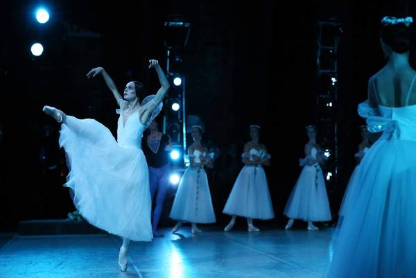"Diana Vishneva in ""Giselle"" at Mariinsky Theater in St. Petersburg."