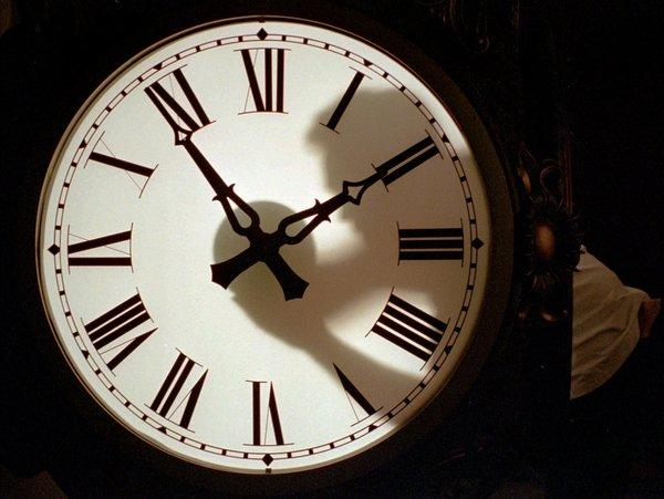Daylight Saving Time ends Sunday at 2 a.m. when clocks are turned back one hour.