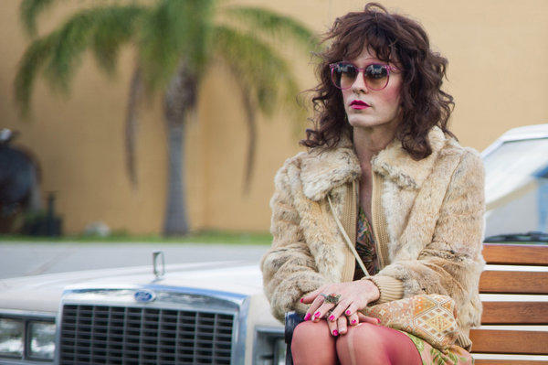 "Jared Leto as Rayon in Jean-Marc Vallee's fact-based drama ""Dallas Buyer's Club."""