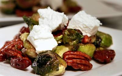 Palazzo Giuseppe's Brussels sprout salad