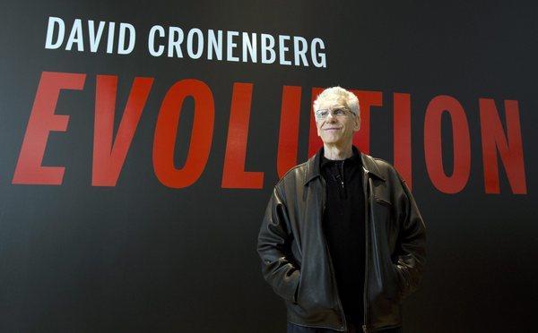 Filmmaker David Cronenberg.