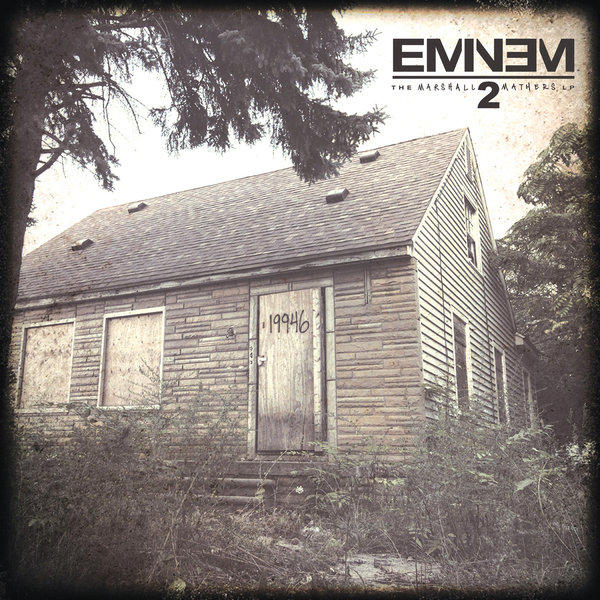 """Eminem's new album, due out Tuesday, is """"The Marshall Mathers LP 2."""""""