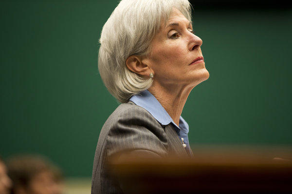 Health and Human Services Secretary Kathleen Sebelius testifies Wednesday before the House Energy and Commerce Committee on the difficulties plaguing the implementation of the Affordable Care Act.
