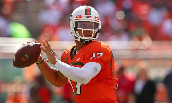Miami quarterback Stephen Morris looks to lead the Hurricanes to victory over Florida State on Saturday.