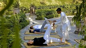At India's lauded Ananda spa, a restless <i>vata dosha </i>learns to relax
