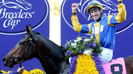 Breeders' Cup Juvenile Fillies Turf: Chriselliam rallies for win