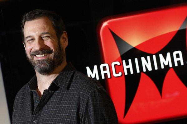 Machinima co-founder Allen DeBevoise is stepping down as chief executive, as he searches for a professional manager to elevate the company to the next level.