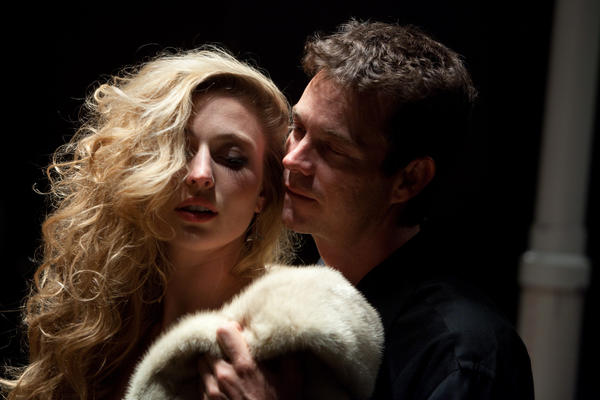 "Piper Rae Patterson and Tim Williams star in ""Venus in Fur."""
