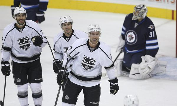 Kings forward Jeff Carter is expected to be placed on injured reserve.