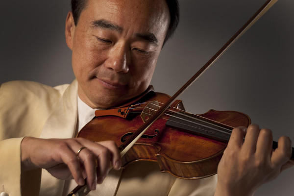 Violinist Cho-Liang-Lin will solo with the Orlando Philharmonic Orchestra.