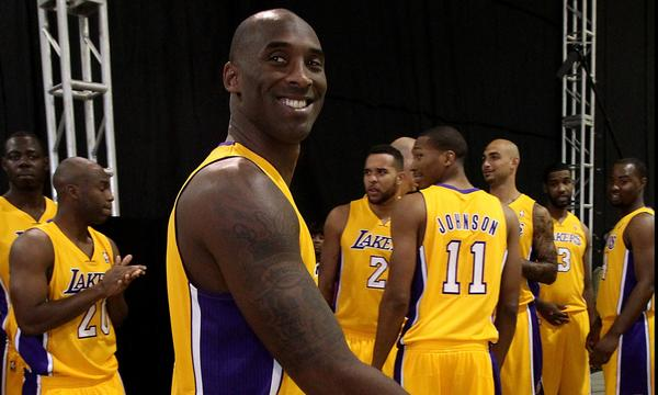 Lakers star Kobe Bryant won't say when he expects to be game-ready.