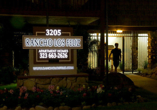 The Rancho Los Feliz apartments on Los Feliz Boulevard in Atwater Village have been linked to LAX shooting suspect Paul Anthony Ciancia.