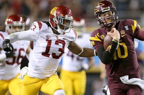 Kevon Seymour Usc USC football: C...
