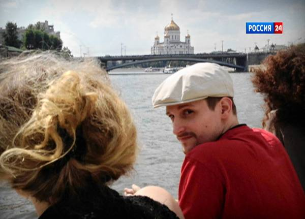 Former NSA contractor Edward Snowden takes a boat ride on the Moscow River in Moscow. His disclosures about NSA spying have embarrassed the White House, angered U.S. allies and could lead to new limits on espionage activities.